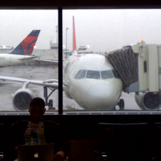 A Rainy Day at LaGuardia