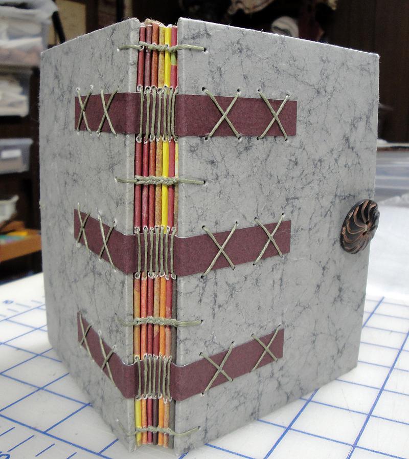 Spine detail1581