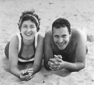 Alice & Bruce on London Beach