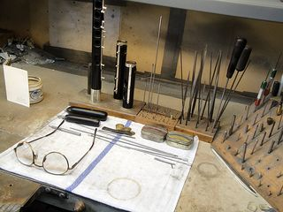 Workbench&glasses
