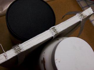 Spine glued