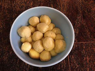 Matzo balls cooked