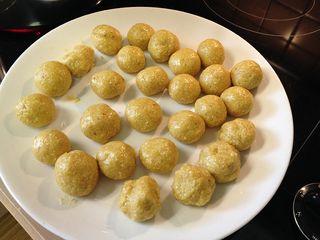 Matzo Balls uncooked
