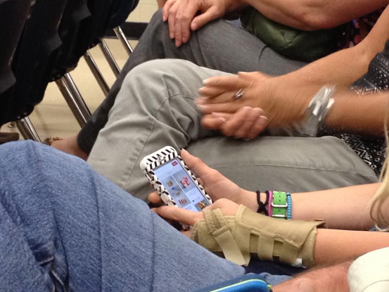Splint & phone