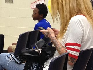 Tattooed lady & boy