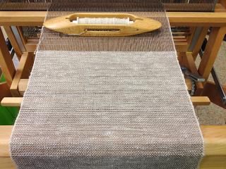 Llama weaving